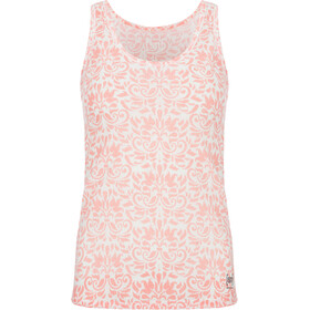 super.natural Printed Base Tank 140 - Sous-vêtement Femme - rose/blanc